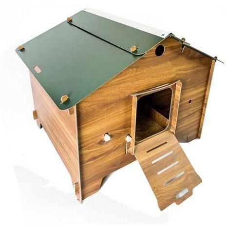 Polly Farm, 49 Kg, Taglia 2XL, Misure 105x120x100h cm, Colore legno