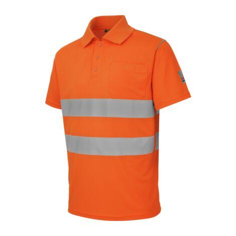 Polo alta visibilità arancione