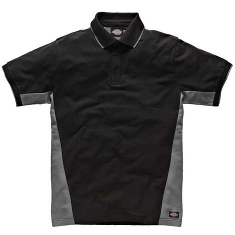 Polo Bicolore gris / noir- DICKIES - SH2004