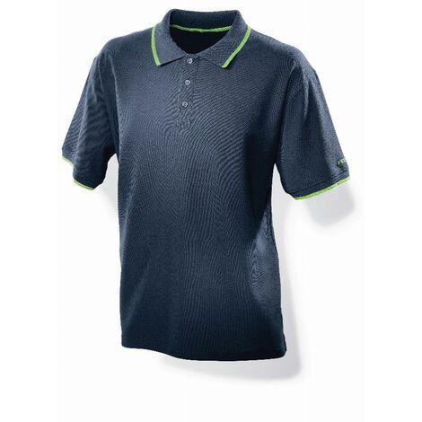 Polo bleu foncé homme FESTOOL - Taille XXL - 498456
