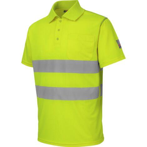 Polo de travail Würth MODYF haute-visibilité jaune