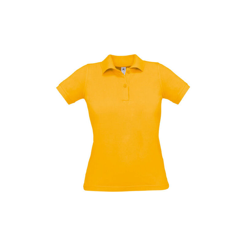 POLO FEMME SAFRAN PURE M Gold - Gold