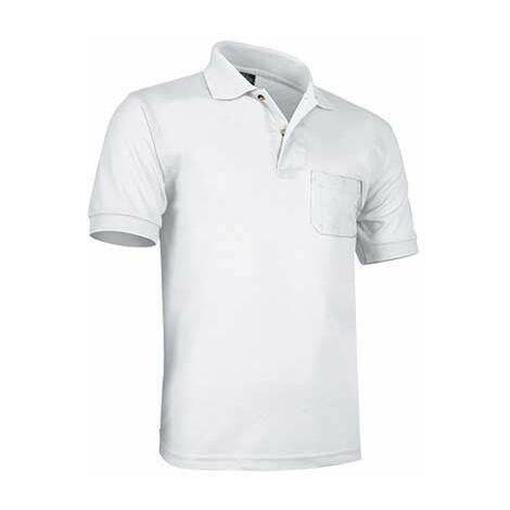 Polo manga corta con bolsillo 100% algodón (ref. ROCK)