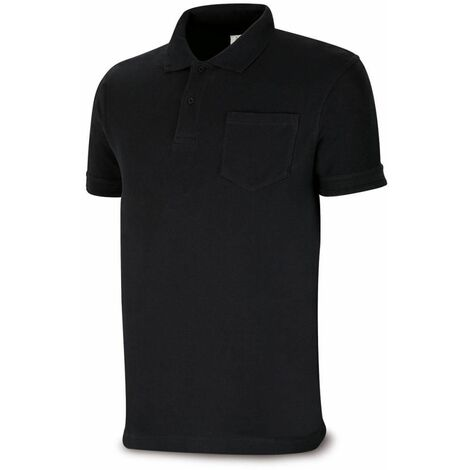 POLO MANGA LARGA NEGRO L