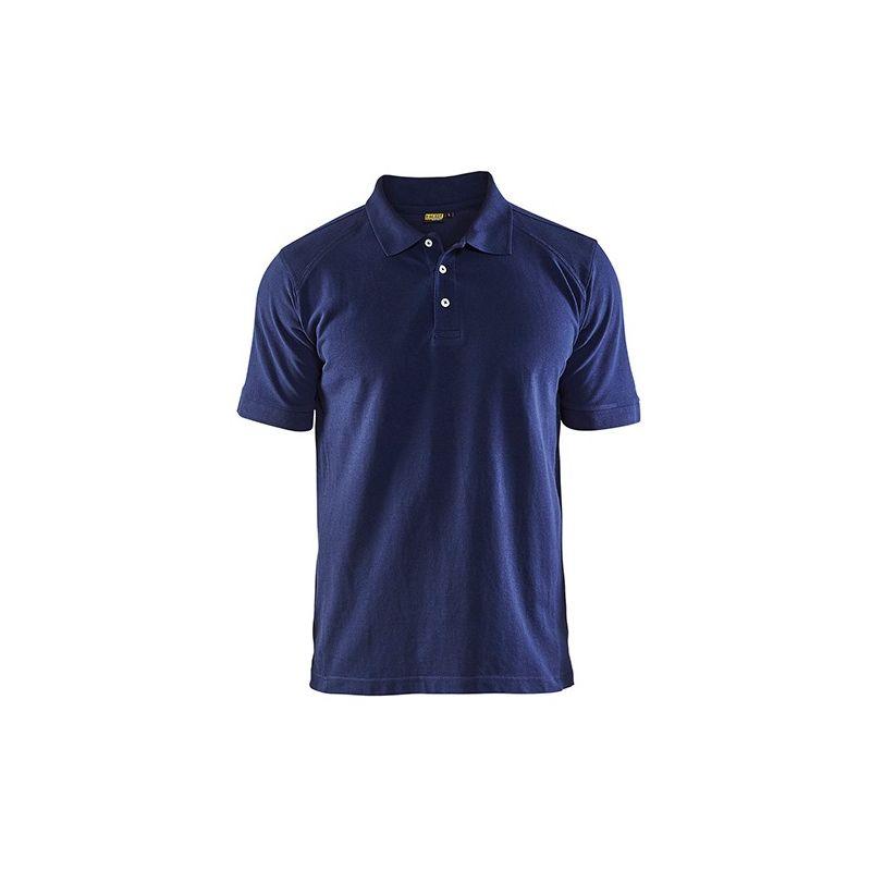 Polo Piqué - 8900 Marine taille: L - couleur: Bleu marine - Blaklader