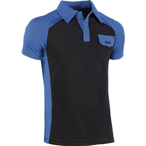 POLO TOP RANGE COOL WAY 994 T-L AZUL/NGR