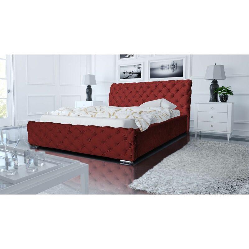 Polsterbett Bett Doppelbett ALDO 140x200cm inkl.Bettkasten - FUN MOEBEL