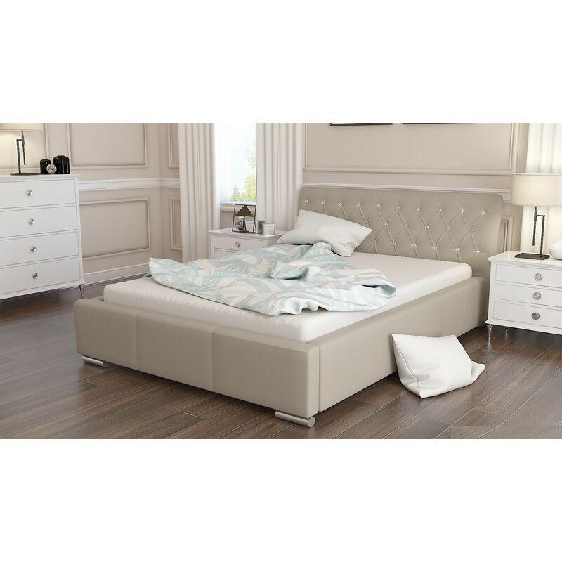 Polsterbett Bett Doppelbett BIAGIO 180x200cm inkl.Lattenrost - FUN MOEBEL