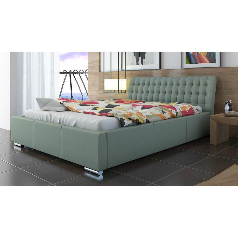 Polsterbett Bett Doppelbett DIVO XS 180x200cm inkl.Lattenrost - FUN MOEBEL