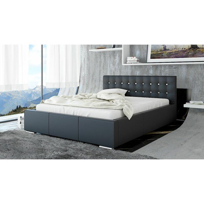 Polsterbett Bett Doppelbett GIANO Deluxe XS 140x200cm inkl.Lattenrost - FUN MOEBEL