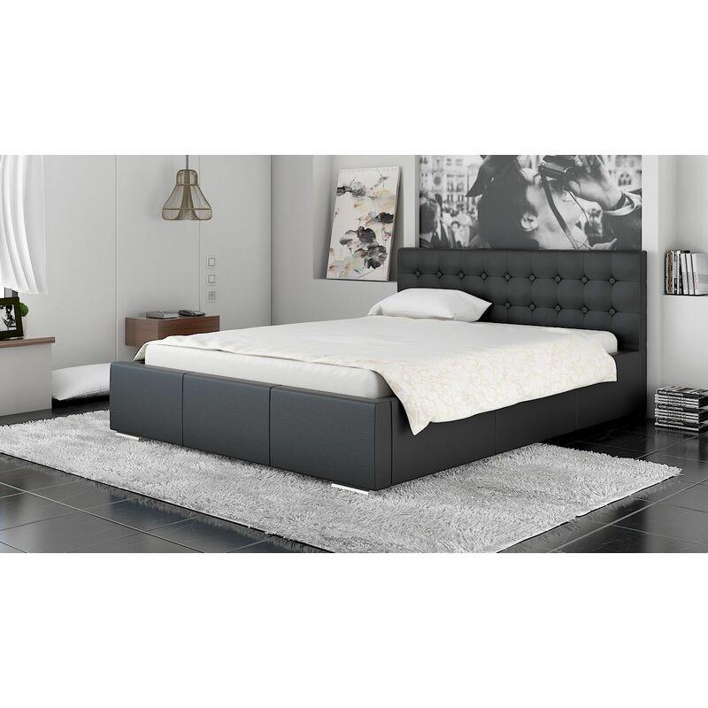 Polsterbett Bett Doppelbett GIANO XS 140x200cm inkl.Lattenrost - FUN MOEBEL