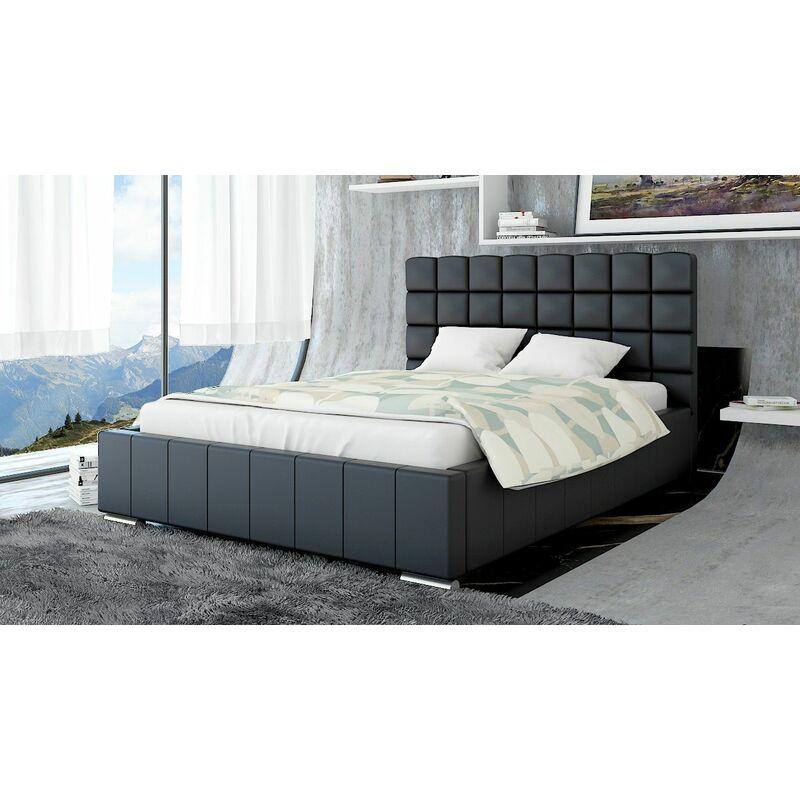 Polsterbett Bett Doppelbett MATTEO 180x200cm inkl.Bettkasten - FUN MOEBEL