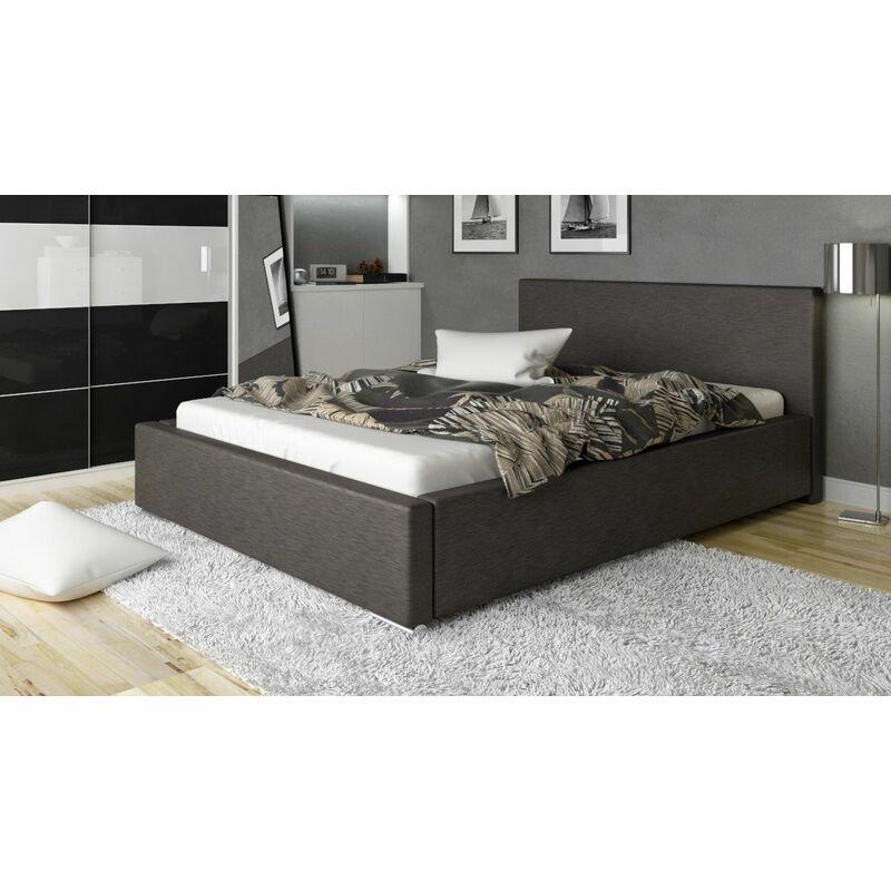 Polsterbett Bett Doppelbett NELIO 160x200cm inkl.Bettkasten - FUN MOEBEL