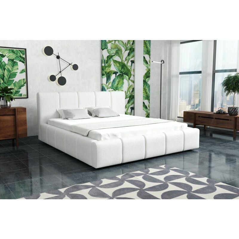 Polsterbett Doppelbett Schlafzimmerbett Set Nr.1 GENUA 120x200cm - FUN MOEBEL