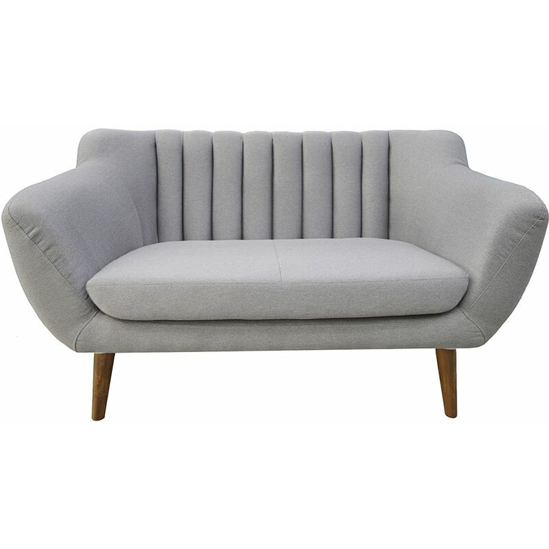 Polstersofa Sofa 2-Sitzer ALICE Massivholz Buche - FUN MOEBEL