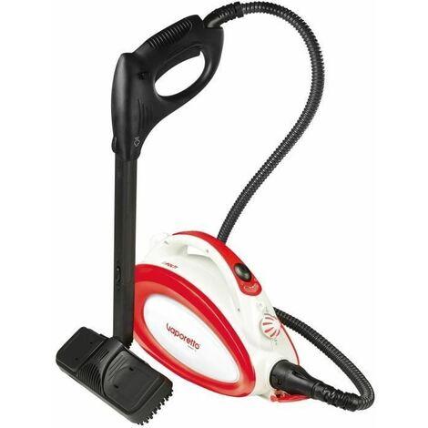 POLTI VAPORETTO Handy 20 - Nettoyeur vapeur avec bandouliere - 3,5 BAR - 90 g/min - 1500W - 10 accessoires - Rouge + Blanc