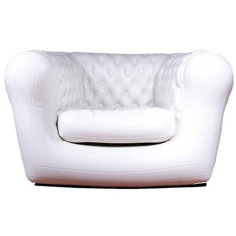 Poltrona gonfiabile 1 posto con motore cuscino comodo for Poltrone gonfiabili