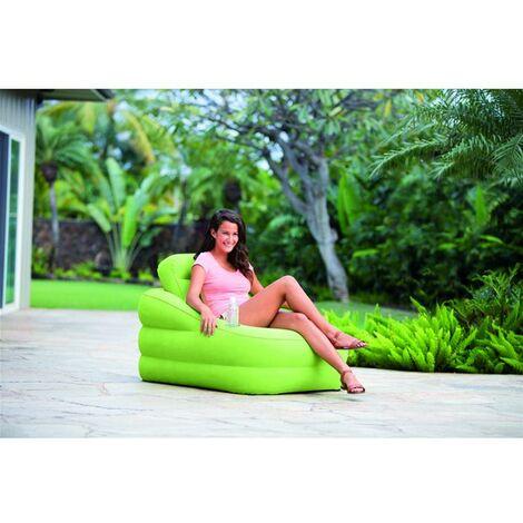 Color : 4 HYDT Mobili da Giardino Poltrona Gonfiabile Portatile Cortile con Giardino Parco Spiaggia Campeggio Piscina Divano Aria Poltrona Gonfiabile