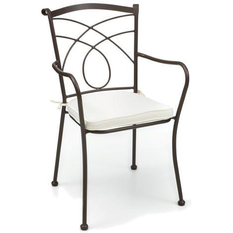 Sedie ferro battuto da interno Altea | ArredaSì