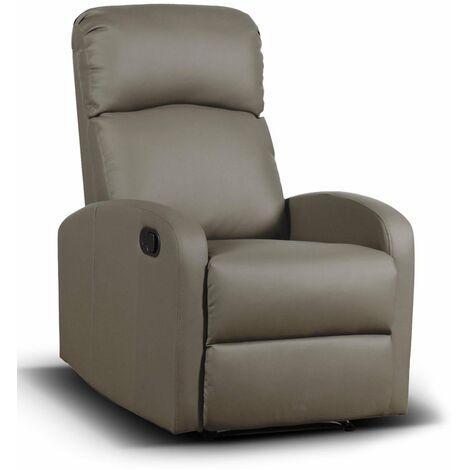 Poltrone Per Anziani Massaggianti.Poltrona Relax Reclinabile Per Anziani Spike Fango Con Recliner