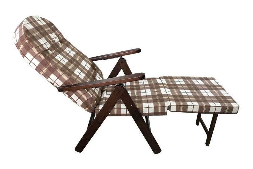 Sedie A Sdraio In Legno : Poltrona sedia sdraio amalfi in legno massello marrone poggiapiedi