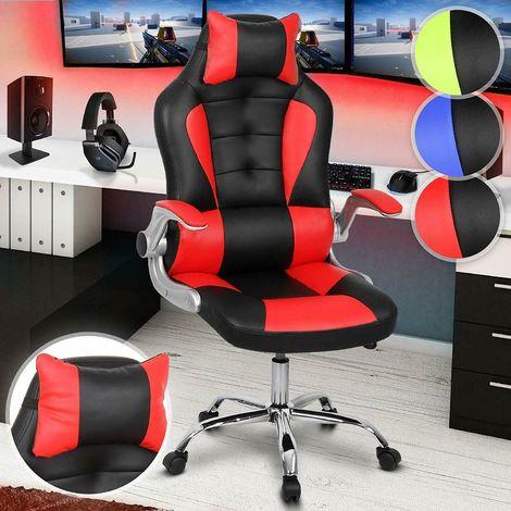 Poltrona sedia ufficio sportiva racing gaming con ...