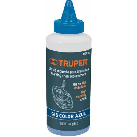 Polvo azul de repuesto para tiralíneas, 225g
