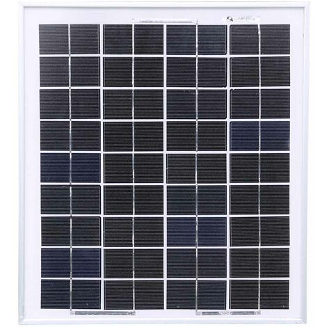 Poly 10W Solar Panel Only