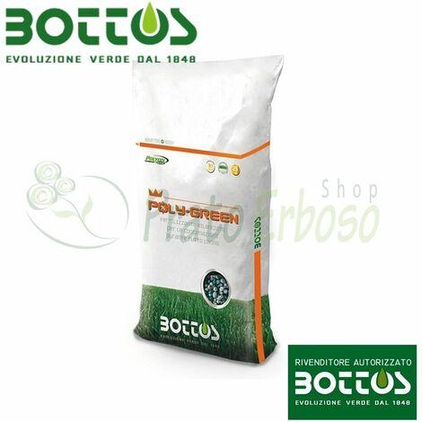 Poly Vert 18-8-12 - Engrais pour la pelouse de 25 Kg