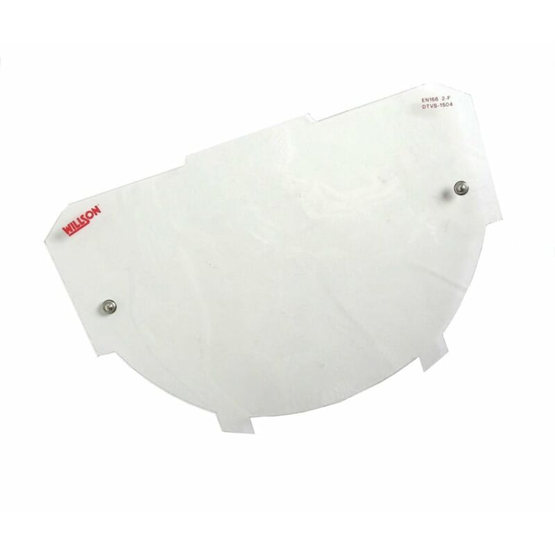 Image of Honeywell 1001774 DTVS-1503/5 Replacement Polycarb. Visor (5)