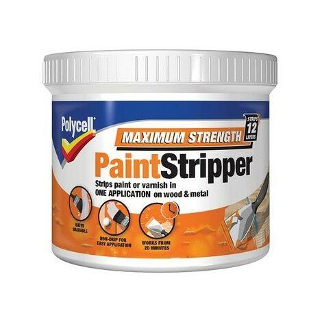 Polycell 5121862 Maximum Strength Paint Stripper 500ml