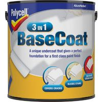 Polycell Basecoat 2.5L