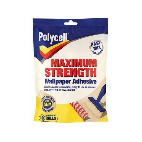 Polycell Max Strength Wallpaper Adhesive (select size)
