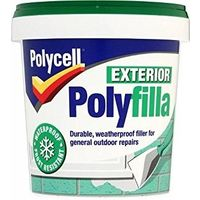 Polycell Multi Purpose Exterior Polyfilla (select size)