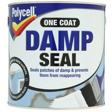 Polycell One Coat Damp Seal 2.5L. Polycell Damp Seal 2.5L
