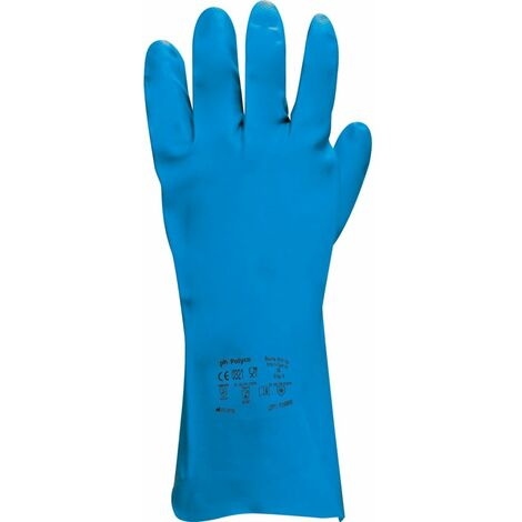 """main image of """"Nitri-Tech III® Chemical Resistant Nitrile Synthetic Rubber Gloves"""""""