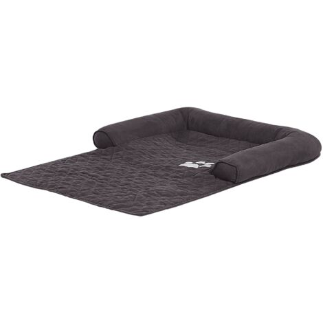 Polyeser Pet Bed for Sofa Dog Cat Couch Protection Grey Bozan