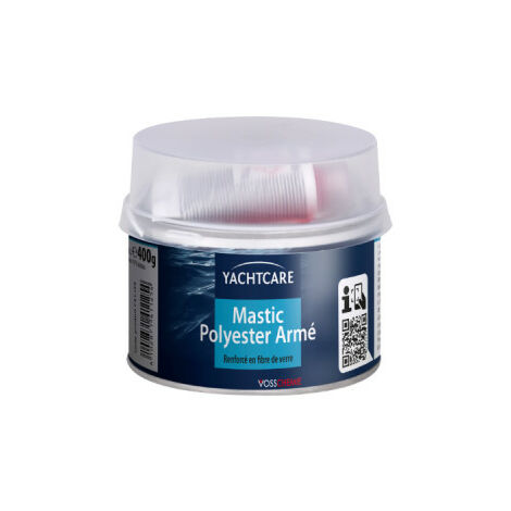 polyester paste army Yachtcare 400g with hardener