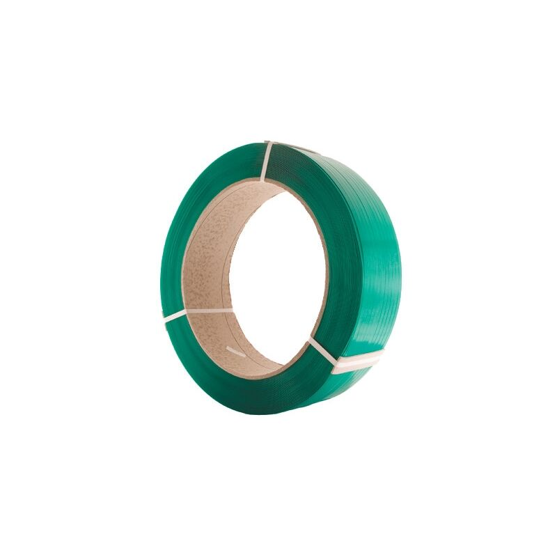 Image of 12MMX0.68X2200M Green Extruded Poly. Strapping - Avon