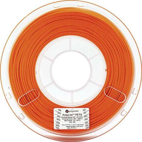 Polymaker 70122 Filament PETG 2.85 mm 1 kg orange PolyLite 1 pc(s)