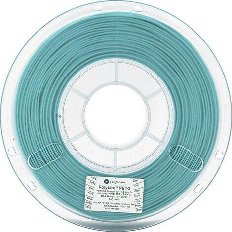 Polymaker 70125 Filament PETG 1.75 mm 1 kg bleu-vert PolyLite 1 pc(s)