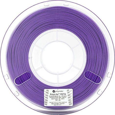 Polymaker 70174 Filament PETG 2.85 mm 1 kg violet PolyLite 1 pc(s)
