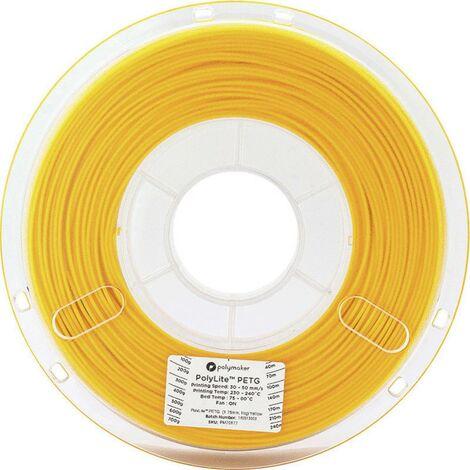 Polymaker 70178 Filament PETG 2.85 mm 1 kg jaune PolyLite 1 pc(s)