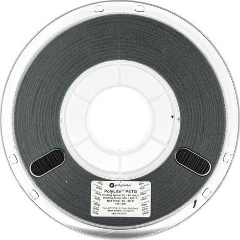 Polymaker 70631 Filament PETG 1.75 mm 1 kg noir PolyLite 1 pc(s)
