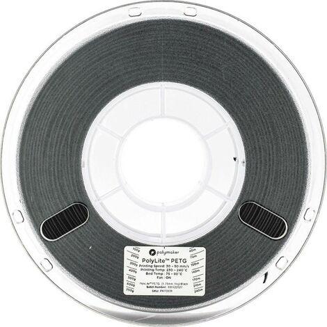 Polymaker 70632 Filament PETG 2.85 mm 1 kg noir PolyLite 1 pc(s)