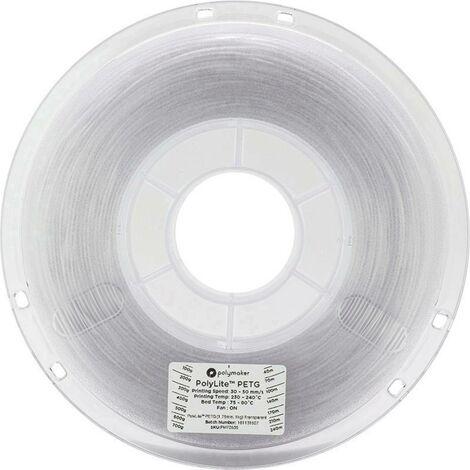 Polymaker 70636 Filament PETG 2.85 mm 1 kg transparent PolyLite 1 pc(s)