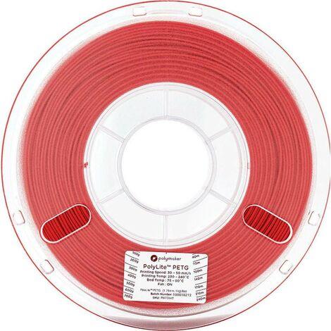 Polymaker 70643 Filament PETG 1.75 mm 1 kg rouge PolyLite 1 pc(s)