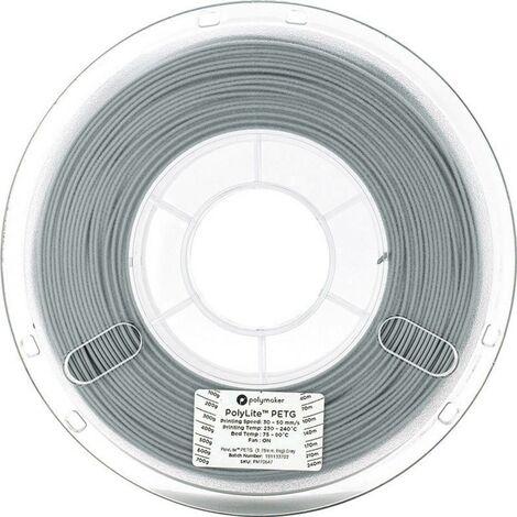 Polymaker 70648 Filament PETG 2.85 mm 1 kg gris PolyLite 1 pc(s)