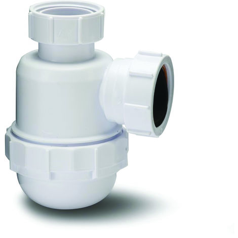 Polypipe 32mm Bottle Trap with 75mm Seal White