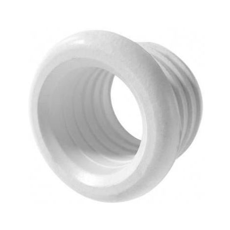Polypipe boss pipe rubber connector pushfit waste adapter reducer white 50mm x 45mm